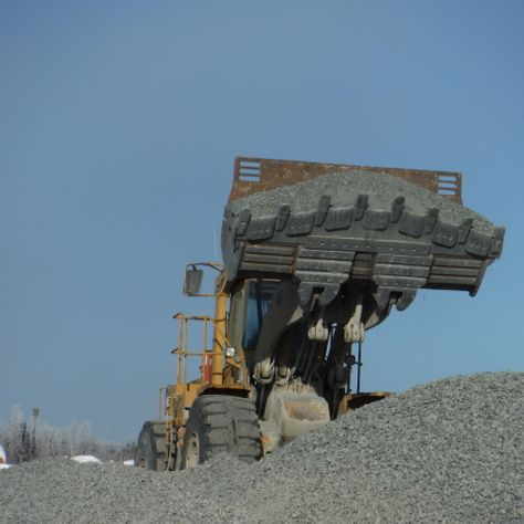 sales and delivery of crushed rock